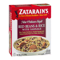 Zatarain's Red Beans & Rice with Sausage