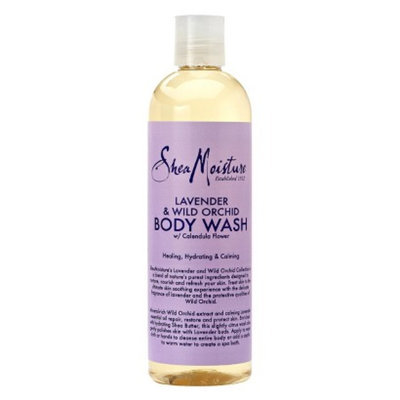 SheaMoisture Lavender & Wild Orchid Body Wash