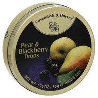 Cavendish & Harvey Pear & Blackberry Drops 1. 75Oz (Pack of 12)