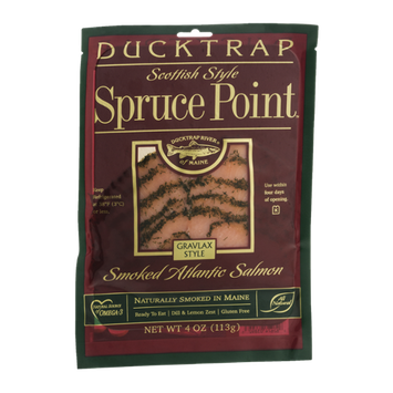 Ducktrap Spruce Point Smoked Atlantic Salmon