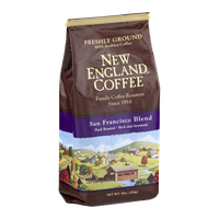 New England Coffee San Francisco Blend Dark Roasted Freshly Ground