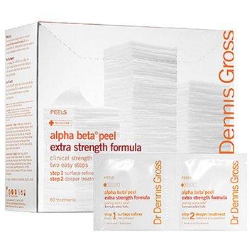 Dr. Dennis Gross Skincare Extra Strength Alpha Beta Daily Face Peel, 60 Applications