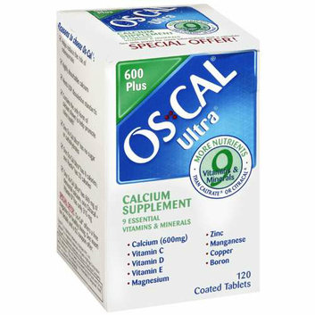 Oscal Ultra Calcium Supplement - 120 Coated Tablets