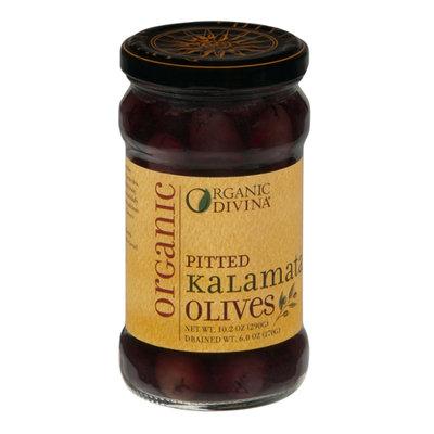 Divina Organic Pitted Kalamata Olives