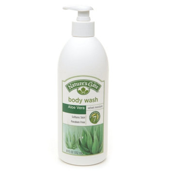 Nature's Gate Velvet Moisture Body Wash Aloe Vera Velvet