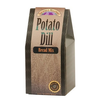 Mama Leone's Leonard Mountain Potato Dill Bread Mix, 19-Ounce Boxes (Pack of 4)
