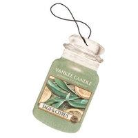 Yankee Candle Sage & Citrus Car Jar Air Freshener, Fresh Scent
