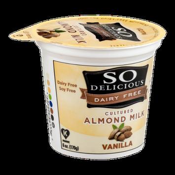 So Delicious Dairy Free Cultured Almond Milk Vanilla