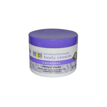 Aura Cacia Lavender  Aromatherapy Body Cream  8 oz.  jar 188251