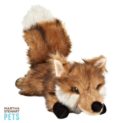 Martha Stewart PetsA Fox Dog Toy