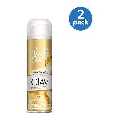 Gillette Satin Care Shave Gel with a Touch of Olay