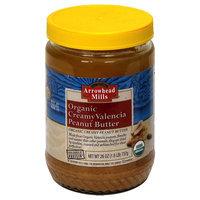 Arrowhead Mills Valencia Peanut Butter, Creamy, Organic - 26 oz
