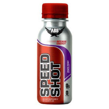 American Body Building American Bodybuilding Speed Shot, Grape Frost, 8.5-Ounce, 12-Count