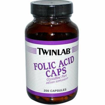 Twinlab Folic Acid Caps 800 mcg 200 Capsules