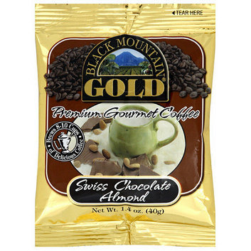 Black Mountain Gold Swiss Chocolate Almond Gourmet Coffee