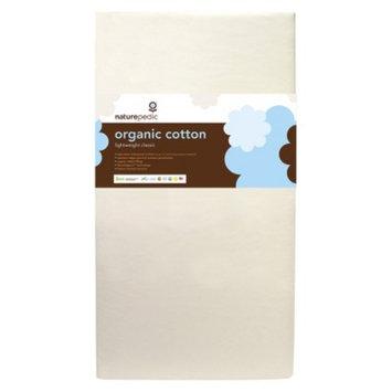 Foam Mattress: Naturepedic Organic Cotton Lightweight Crib Mattress