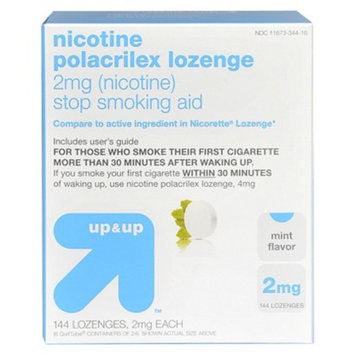 up & up Mint Flavored 2-mg. Nicotine Lozenges - 144 ct.