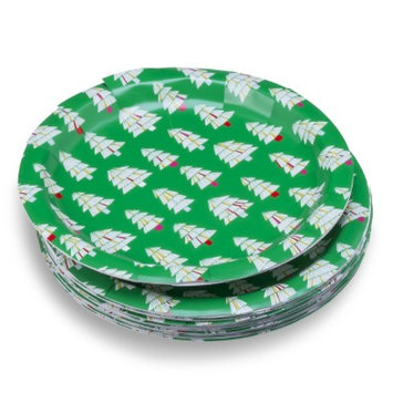 Oh Joy! Green Trees Paper Plate 10ct