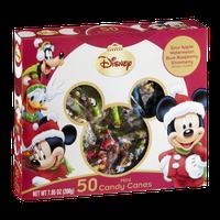 Disney Mini Candy Canes Sour Apple, Watermelon, Blue Raspberry & Strawberry - 50 CT