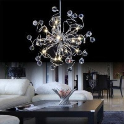 ANN Lights Modern Crystal chandelier with 15 Lights