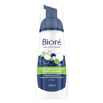 Bioré Pore Detoxifying Foam Cleanser