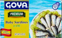 Goya® Baby Sardinas in Oil