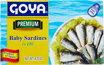 Goya Baby Sardinas in Oil