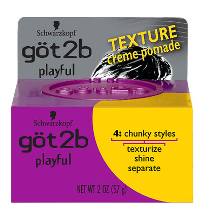 göt2b® Playful Texturizing Crème Pomade