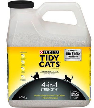 Tidy Cats Clumping Cat Litter 4-In-1 Strength Cat Litter