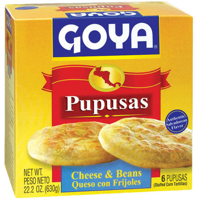 Goya® Pupusas with Cheese and Beans