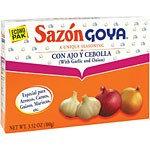 Goya Sazòn with Garlic and Onion