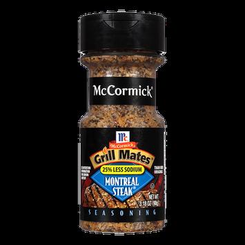 McCormick® Grill Mates® 25% Less Sodium Montreal Steak Seasoning