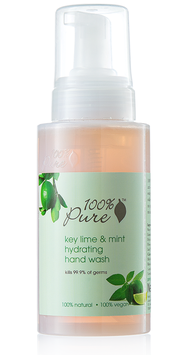 100% Pure Key Lime and Mint Hydrating Hand Wash