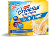 Carnation Breakfast Essentials Classic French Vanilla Light Start