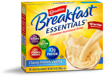 Carnation Breakfast Essential French Vanilla