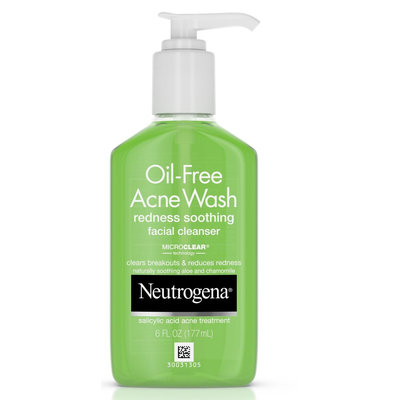 Neutrogena® Oil-Free Acne Wash Redness Soothing Facial Cleanser