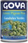 Goya Low Sodium Green Pigeon Peas