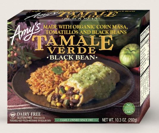 Amy's Kitchen Black Bean Tamale Verde