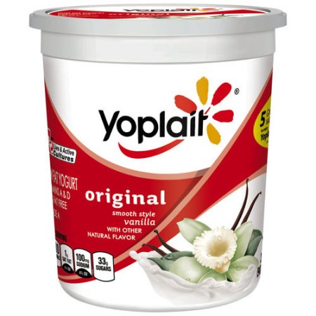 Yoplait® Original Creamy Vanilla Grande Yogurt