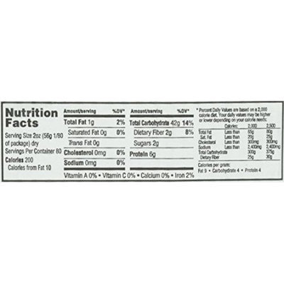 Natural Value BG16256 Natural Value Orzo - 1x10LB