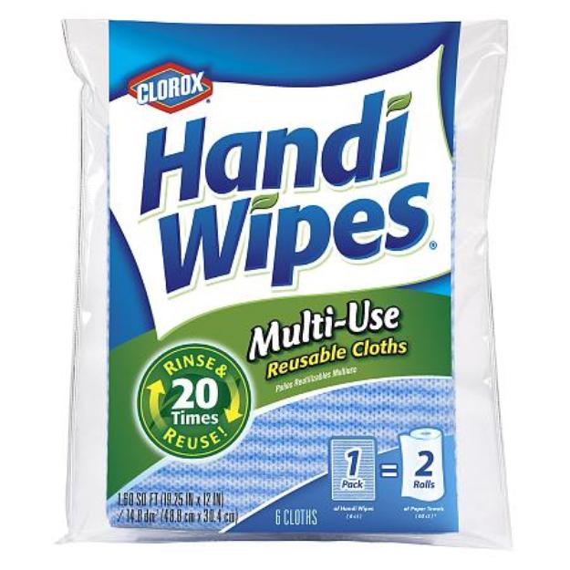 Clorox Handi Wipes Multi-Use Reusable Cloths