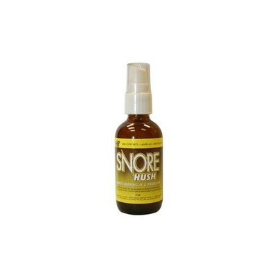 Snore Hush - Anti-Snoring Spray - By Lab88 - Made in the USA - Easy Spray Formula