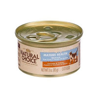 Natural Choice Cat Natural Choice Mature Health Senior Chicken and Turkey Formula Chunks in Gravy Cat Food Cans, 3-Ounce