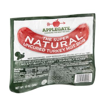 Applegate Turkey Hot Dog Uncured Natural