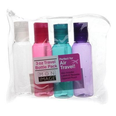 Mon Image 3 oz Travel Bottle Pack