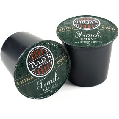 Tullys Coffee Tully's French Roast Coffee Keurig K-Cups, 108 Count