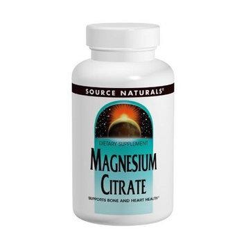 Source Naturals Magnesium Citrate, 133mg, 180 Capsules