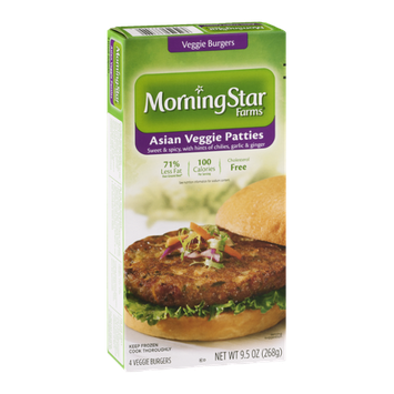 Morning Star Asian Veggie Patties - 4 CT