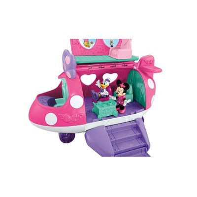 Minnie Mouse Polka Dot Jet Playset