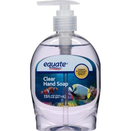 equate beauty Equate Clear Liquid Hand Soap, 7 5 fl oz